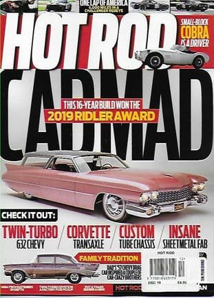Hot Rod Magazine - Issue 2019-12  December 2019