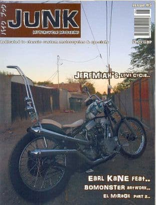 Junk Motorcycle Magazine - Issue 5