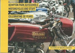 Kempton Park Autojumble Motorcycles And Stuff, Celebrating 30 Years Book