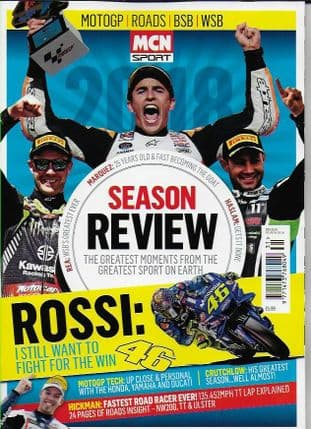 MCN Sport Magazine - 2018 Season Review