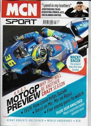 MCN Sport Magazine - 2021 MotoGP Preview Issue