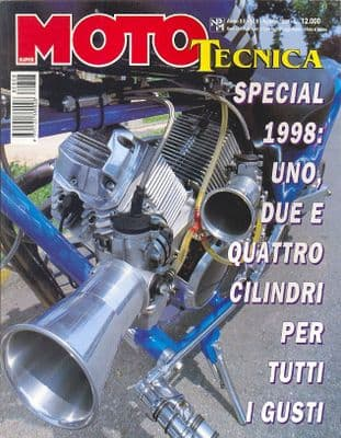 Moto Tecnica Magazine - Issue 1998-08 August 1998