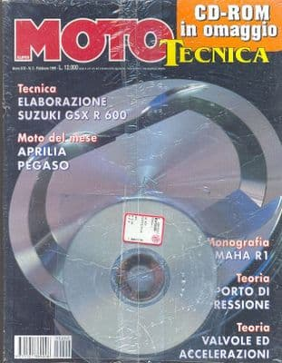 Moto Tecnica Magazine - Issue 1999-02 February 1999