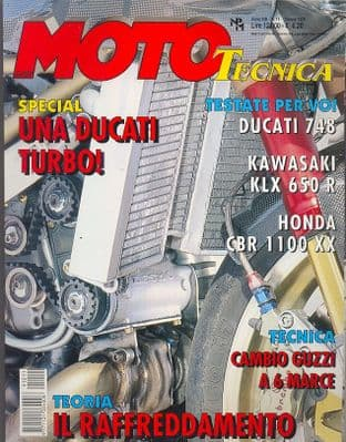 Moto Tecnica Magazine - Issue 1999-10 October 1999