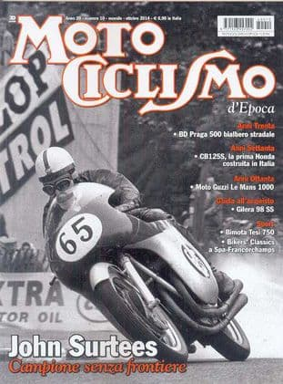 Motociclismo D'Epoca Magazine - 2014-10 October 2014