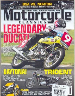 Motorcycle Classics USA Magazine - Issue 2013-07/08 J/August 2013