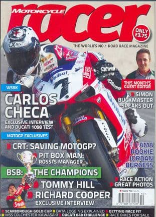 Motorcycle Racer Magazine - No.145 / Oct.11