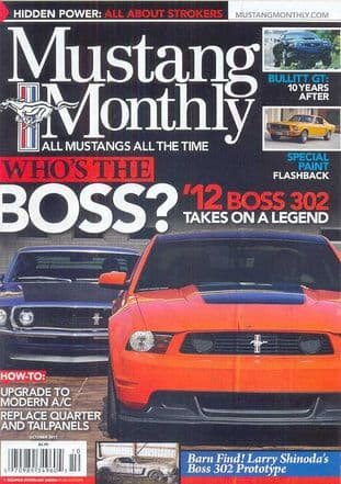 Mustang Monthly Magazine - Issue 2011-10 October 2011