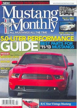 Mustang Monthly Magazine - Issue 2012-07 July 2012