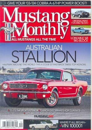 Mustang Monthly Magazine - Issue 2014-12 December 2014