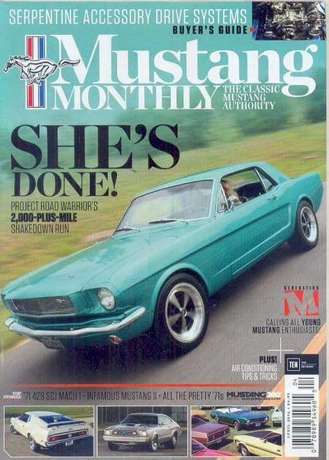 Mustang Monthly Magazine - Issue 2016-04 April 2016