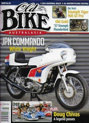 Old Bike Australasia Magazine - Issue 090 (Featuring JPN Commando)