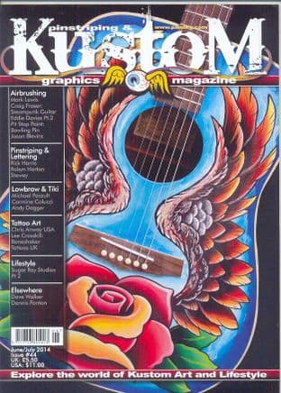 Pinstriping & Kustom Graphics Magazine - No.044