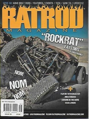 Rat Rod Magazine - Issue 056 / A-September2019