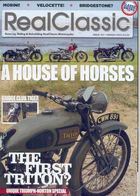 Real Classic Magazine - Issue 107 / March 2013