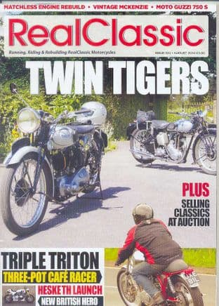 Real Classic Magazine - Issue 124 / Aug 2014