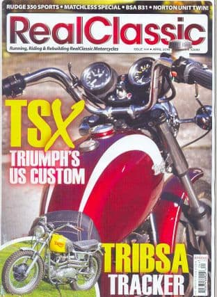 Real Classic Magazine - Issue 144 / Apr2016
