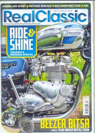 Real Classic Magazine - Issue 156 / April 2017