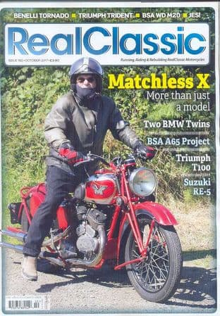 Real Classic Magazine - Issue 162 / Oct 2017
