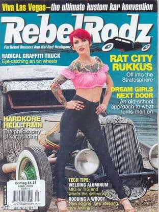 Rebel Rodz Magazine - Issue 2011-08 August 2011