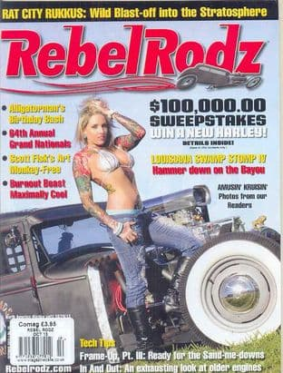 Rebel Rodz Magazine - Issue 2013-10 October 2013