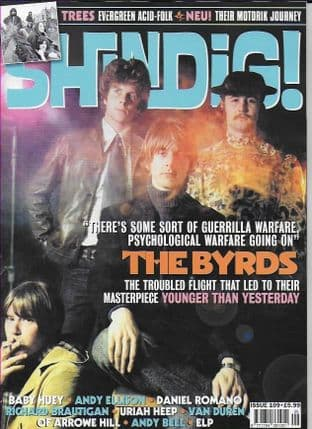 Shindig Magazine - Issue 109 (Featuring THE BYRDS)