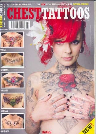 Special Tattoo Photos Magazine - Chest Tattoos