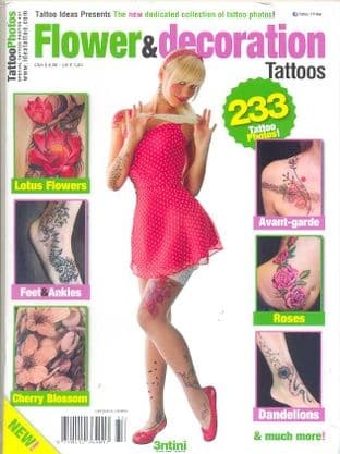 Special Tattoo Photos Magazine - Flower & Decoration