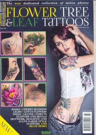 Special Tattoo Photos Magazine - Flower, Tree & Leaf Tattoos