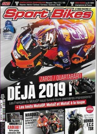 Sport Bikes Magazine - No.115 (Slightly Damaged Cover Binding-Last Copy)