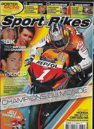 Sport Bikes Magazine - No.39 (Damaged Copy Only-Ripped Front/Back Cover)