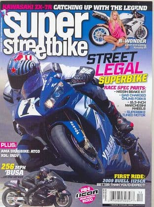 Super Streetbike Magazine - Issue 2008-12 December 2008