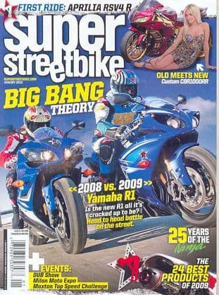 Super Streetbike Magazine - Issue 2010-01 January 2010
