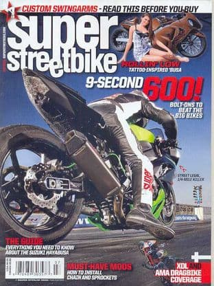 Super Streetbike Magazine - Issue 2010-07 July 2010