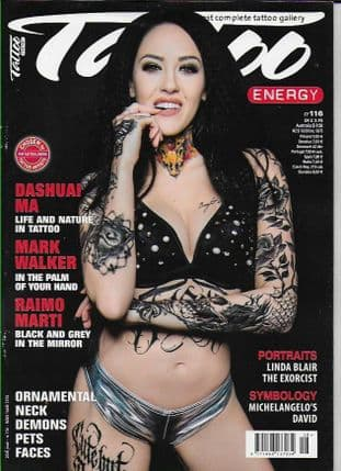 Tattoo Energy Magazine - No.116