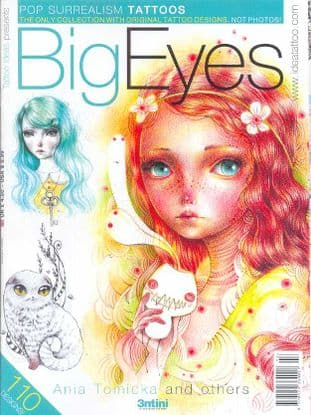 Tattoo Ideas Presents Magazine - Big Eyes