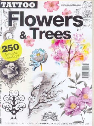 Tattoo Ideas Presents Magazine - Flower & Trees