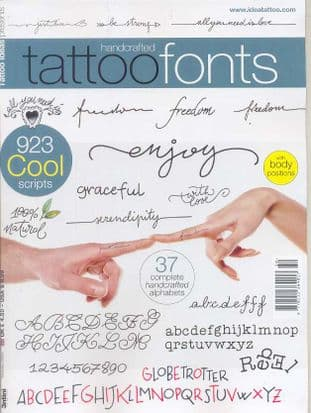 Tattoo Ideas Presents Magazine - Tattoo Fonts
