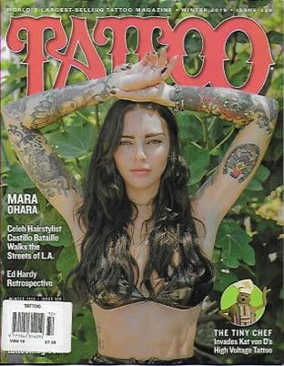 Tattoo Magazine - No.338 Winter 2019