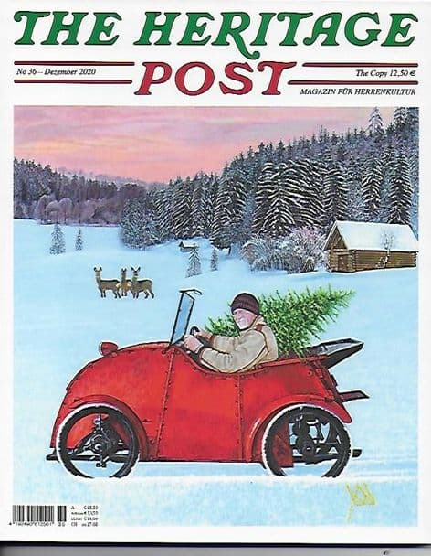 The Heritage Post Magazine (German Language Edition)- Issue 36 / December 2020