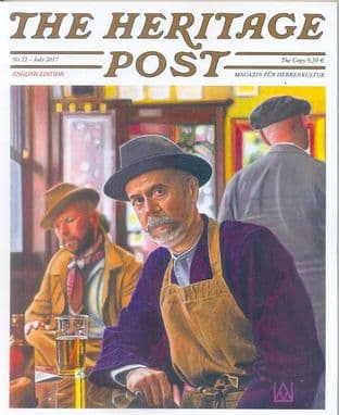 The Heritage Post Magazine - Issue 22 / July 2017 (1 COPY ONLY SLIGHTLY MARKED)