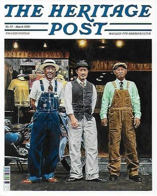 The Heritage Post Magazine U.K. Edition- 4 Issue Discounted Set (Nos.29,30,31,33)