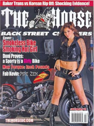 The Horse Backstreet Choppers Magazine - Issue 085