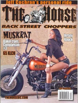 The Horse Backstreet Choppers Magazine - Issue 087