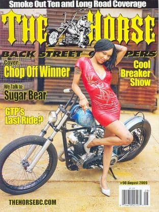 The Horse Backstreet Choppers Magazine - Issue 090