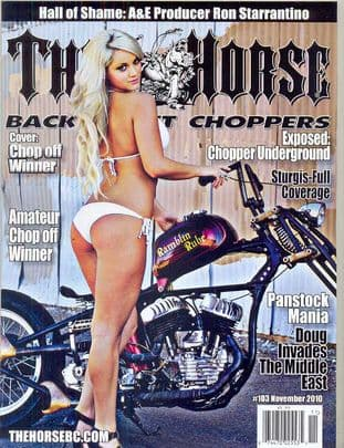 The Horse Backstreet Choppers Magazine - Issue 103