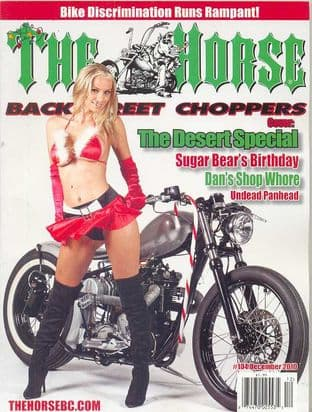 The Horse Backstreet Choppers Magazine - Issue 104