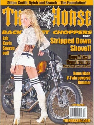 The Horse Backstreet Choppers Magazine - Issue 108