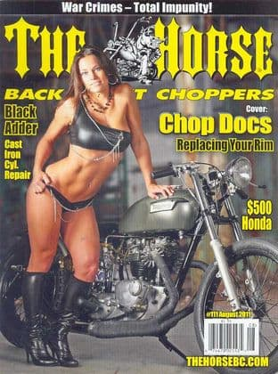 The Horse Backstreet Choppers Magazine - Issue 111