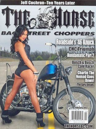The Horse Backstreet Choppers Magazine - Issue 116
